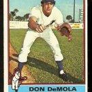 MONTREAL EXPOS DAN DeMOLA 1976 TOPPS # 571 EX/EM
