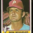PHILADELPHIA PHILLIES RON SCHUELER 1976 TOPPS # 586 VG