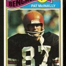CINCINNATI BENGALS PAT McINALLY ROOKIE CARD RC 1977 TOPPS # 152 VG