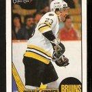 BOSTON BRUINS CHARLIE SIMMER 1987 O PEE CHEE OPC # 52 VG