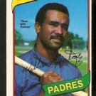 San Diego Padres Willie Montanez 1980 O-Pee-Chee OPC Baseball Card # 119 nm