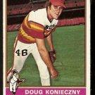 HOUSTON ASTROS DOUG KONIECZNY 1976 TOPPS # 602 good