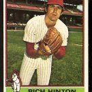 CHICAGO WHITE SOX RICH HINTON 1976 TOPPS # 607 VG