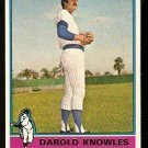 CHICAGO CUBS DAROLD KNOWLES 1976 TOPPS # 617 EX