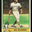 PITTSBURGH PIRATES AL OLIVER 1976 TOPPS # 620 VG
