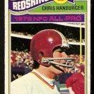 Washington Redskins Chris Hanburger 1977 Topps Football Card # 170 good