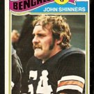 CINCINNATI BENGALS JOHN SHINNERS 1977 TOPPS # 189 VG