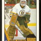 BOSTON BRUINS DOUG KEANS 1987 TOPPS # 147 NR MT