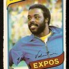 MONTREAL EXPOS ELLIS VALENTINE 1980 O PEE CHEE OPC # 206