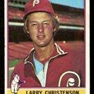PHILADELPHIA PHILLIES LARRY CHRISTENSON 1976 TOPPS # 634 EX