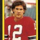 NEW ENGLAND PATRIOTS MATT CAVANAUGH 1982 TOPPS STICKER # 238 NR MT