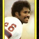 NEW ENGLAND PATRIOTS STANLEY MORGAN 1982 TOPPS STICKER # 242 NR MT