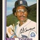DETROIT TIGERS AL COWANS 1982 O PEE CHEE OPC # 103
