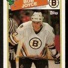 BOSTON BRUINS BOB JOYCE ROOKIE CARD RC 1988 TOPPS # 2