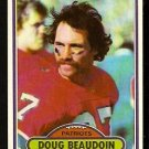 NEW ENGLAND PATRIOTS DOUG BEAUDOIN 1980 TOPPS # 26 NR MT