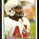 NEW ENGLAND PATRIOTS DON CALHOUN 1981 TOPPS # 7 NR MT
