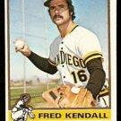 SAN DIEGO PADRES FRED KENDALL 1976 TOPPS # 639 EX