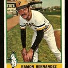 PITTSBURGH PIRATES RAMON HERNANDEZ 1976 TOPPS # 647 VG