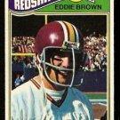 WASHINGTON REDSKINS EDDIE BROWN 1977 TOPPS # 231 VG