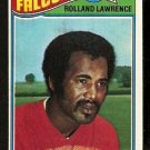 ATLANTA FALCONS ROLLAND LAWRENCE 1977 TOPPS # 242 EX