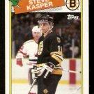 BOSTON BRUINS STEVE KASPER 1988 TOPPS # 176 NR MT