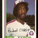 MONTREAL EXPOS ROWLAND OFFICE 1982 OPC O PEE CHEE # 165 NR MT