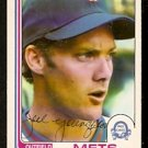 NEW YORK METS JOEL YOUNGBLOOD 1982 OPC O PEE CHEE # 189 NR MT