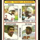 NEW ENGLAND PATRIOTS TEAM LDRS 1981 TOPPS # 94 NR MT UNMARKED CHECKLIST