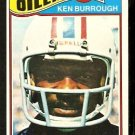 HOUSTON OILERS KEN BURROUGH 1977 TOPPS # 305 VG