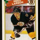 BOSTON BRUINS REED LARSON 1988 OPC O PEE CHEE # 145