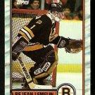 BOSTON BRUINS REJEAN LEMELIN 1989 TOPPS # 40