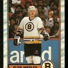 BOSTON BRUINS GLEN WESLEY 1989 TOPPS # 51