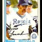 KANSAS CITY ROYALS DENNIS LEONARD 1982 OPC O PEE CHEE # 369