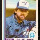 TORONTO BLUE JAYS JOEY McLAUGHLIN 1982 OPC O PEE CHEE # 376