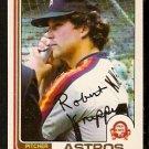 HOUSTON ASTROS BOB KNEPPER 1982 OPC O PEE CHEE # 389 VG