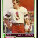 NEW ENGLAND PATRIOTS JOHN SMITH ALL PRO 1981 TOPPS # 490