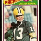 GREEN BAY PACKERS CHESTER MARCOL 1977 TOPPS # 323
