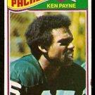 GREEN BAY PACKERS KEN PAYNE 1977 TOPPS # 347 VG
