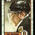 BOSTON BRUINS RAY BOURQUE 1989 TOPPS # 110