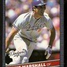 LOS ANGELES DODGERS MIKE MARSHALL 1986 LEAF # 40