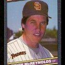 SAN DIEGO PADRES KEVIN McREYNOLDS 1986 LEAF # 76