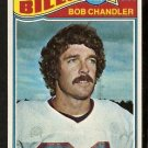 BUFFALO BILLS BOB CHANDLER 1977 TOPPS # 383 VG+/EX