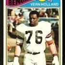 CINCINNATI BENGALS VERN HOLLAND 1977 TOPPS # 391 VG+