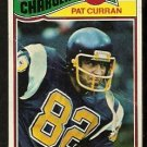 SAN DIEGO CHARGERS PAT CURRAN 1977 TOPPS # 403 good
