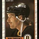 BOSTON BRUINS BOB SWEENEY 1989 OPC O PEE CHEE # 135