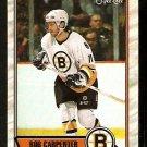 BOSTON BRUINS BOB CARPENTER 1989 OPC O PEE CHEE # 167