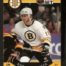 BOSTON BRUINS BOB CARPENTER 1990 PRO SET # 4