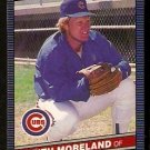 CHICAGO CUBS KEITH MORELAND 1986 LEAF # 94
