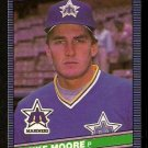 SEATTLE MARINERS MIKE MOORE 1986 LEAF # 114