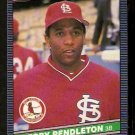 ST LOUIS CARDINALS TERRY PENDLETON 1986 LEAF # 137